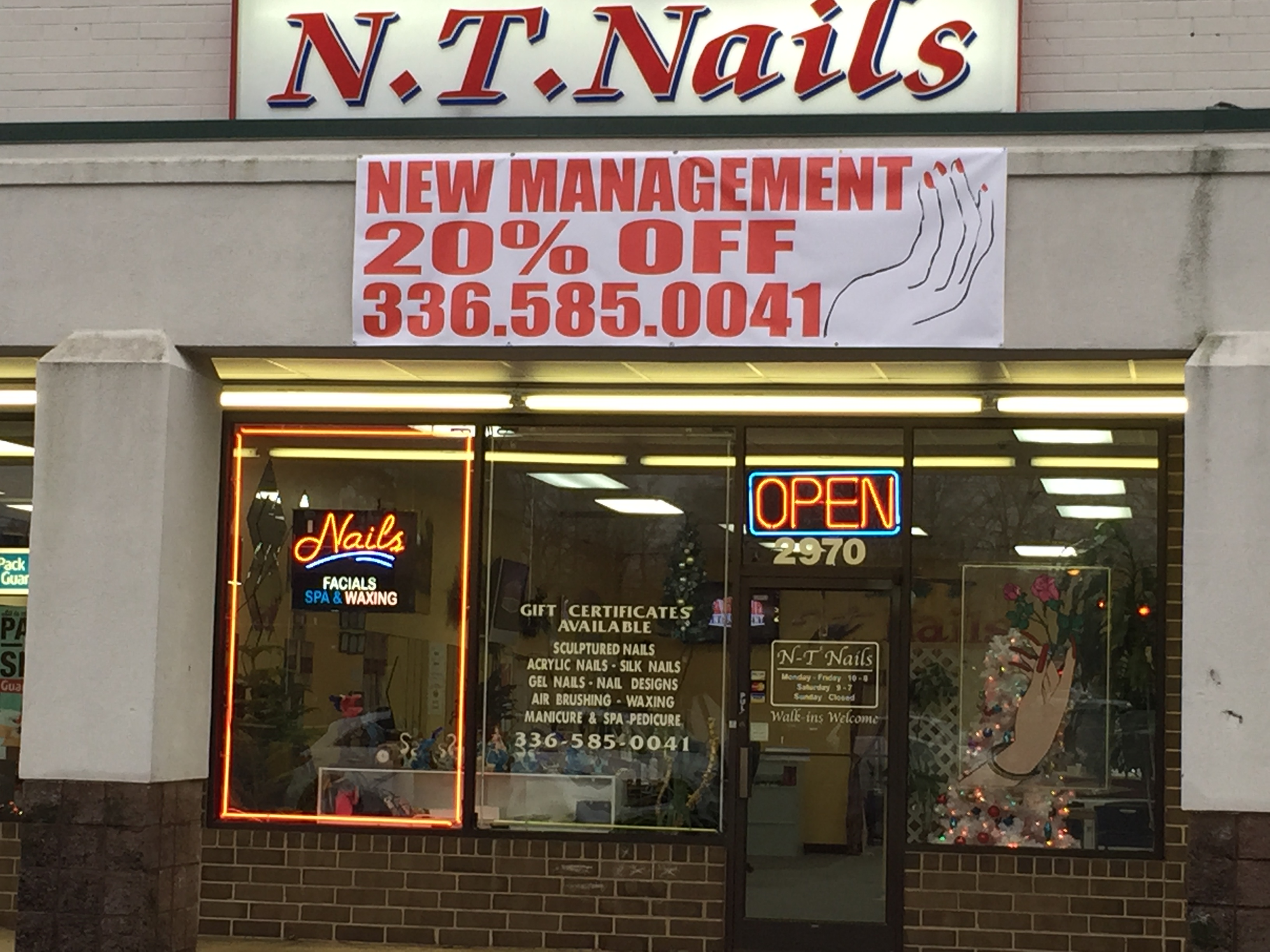 Nail Places Open Past 7 Near Me – Papillon Day Spa