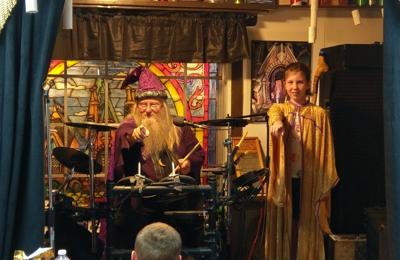 Magic Fun House - Rowlett, TX. Drumbledore lol Fun at The Magic Fun House Castle with Wizard Wayne!