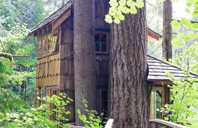 Treehouse Point - Issaquah, WA