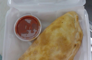 """8"""" Calzone comes in different styles or build your own!"""