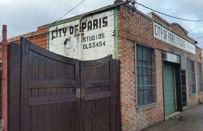 City of Paris Studios - Emeryville, CA. Adeline Street View
