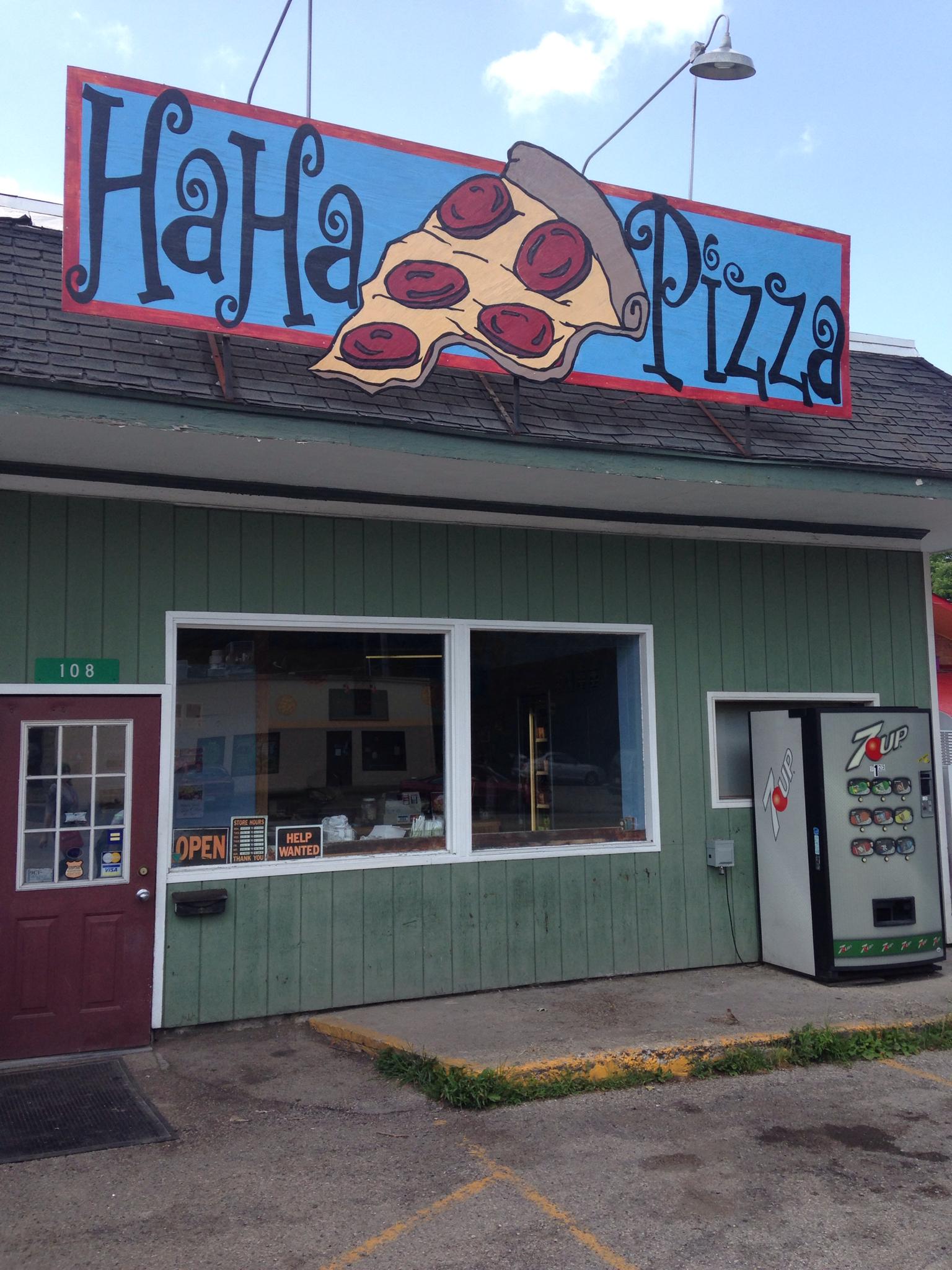 Ha Ha Pizza, Yellow Springs OH