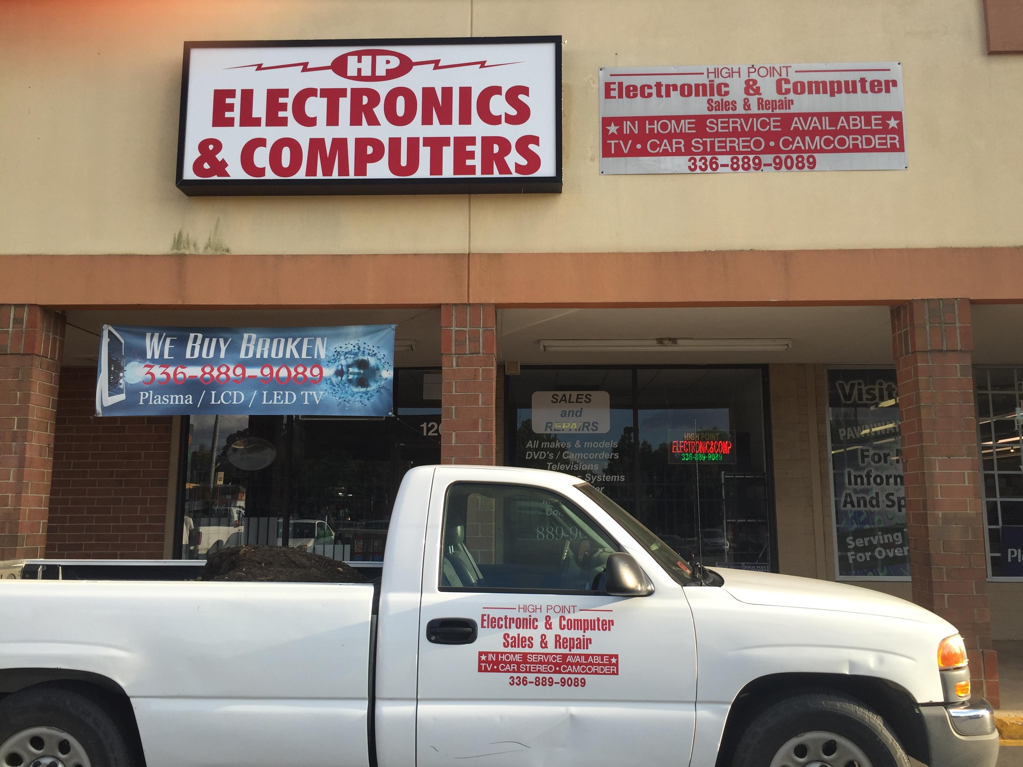 High Point Electronics & Computer 110 E Fairfield Rd, High