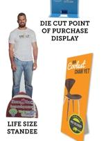 Life Size Standees, POP Displays, Floor Signs