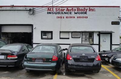 All Star Auto >> All Star Auto Body Inc 4803 Rhode Island Ave Hyattsville Md 20781