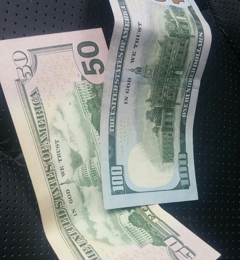 Wells Fargo Bank - Folsom, CA. Cash money