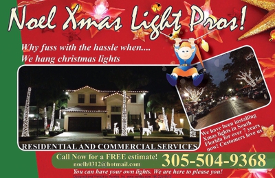 noel christmas light professional inc 310 NW 85th Street Rd, miami ...