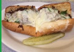 Boston Pizzeria - Greenville, SC. Steak Combo! Unbelievable!