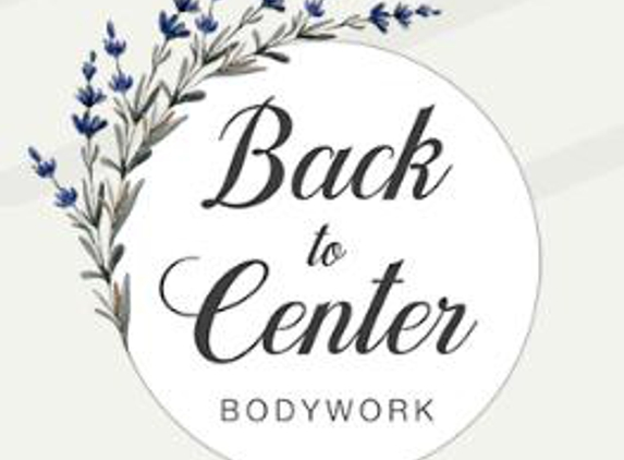 Back to Center Bodywork - Oakland, CA