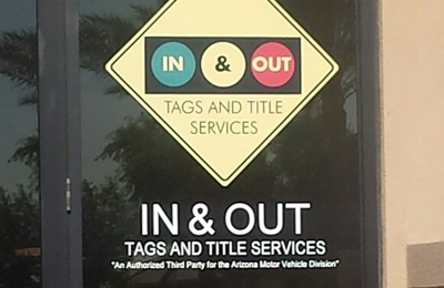 In & Out Tags and Title Services - Chandler, AZ