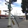 Victory Powder Coating & Sandblasting  Inc. - Los Angeles, CA. Backside of corner Nintendo controller at 58th & Broadway.