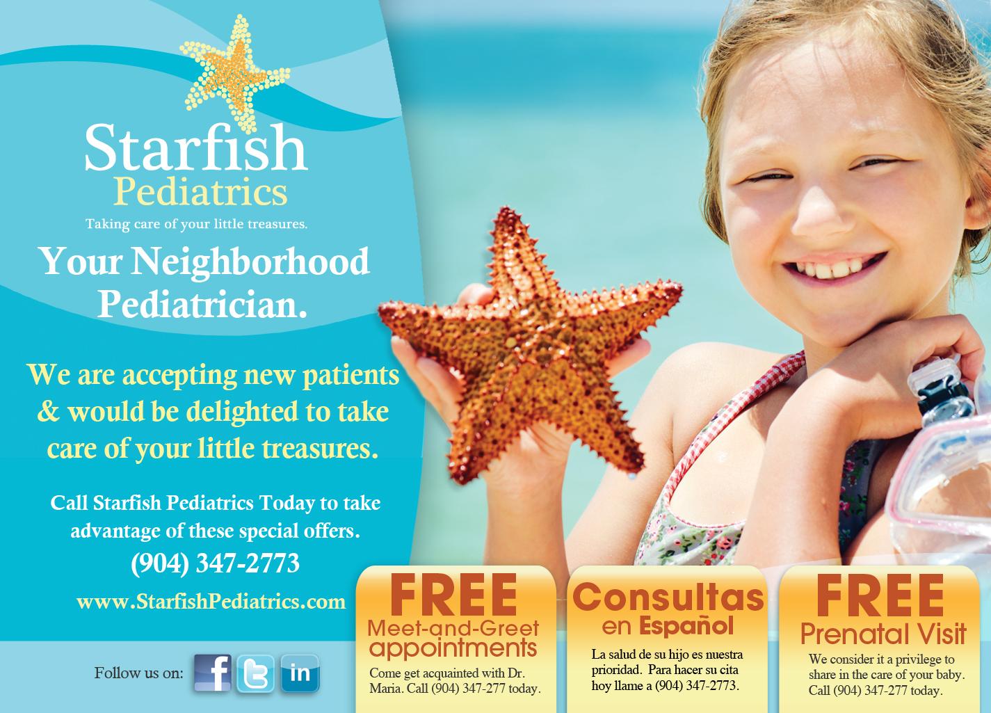 Starfish Pediatrics 4500 Hodges Blvd Jacksonville Fl 32224 Yp