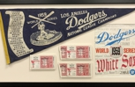 Client loved this shadowbox for their 1959 World Series memorabilia.