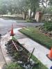 Main line irrigation repair