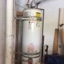 A Dan The Handyman - Santa Ana, CA. 21 year old water heater needed a facelift