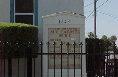 The Greater Mount Carmel Baptist Church - Oakland, CA