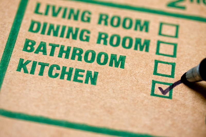 Labeling everything is just one part of your moving checklist.