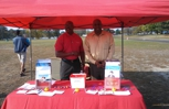 Francis and I @ Food Allergy Event