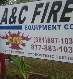 A & C Fire Equipment - Corpus Christi, TX