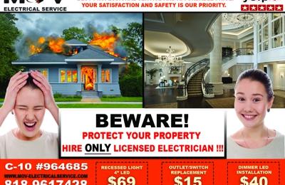 MOV Electrical Service - Tarzana, CA