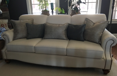 Sprouse Upholstery Inc - Springdale, AR. They made an ugly couch beautiful!