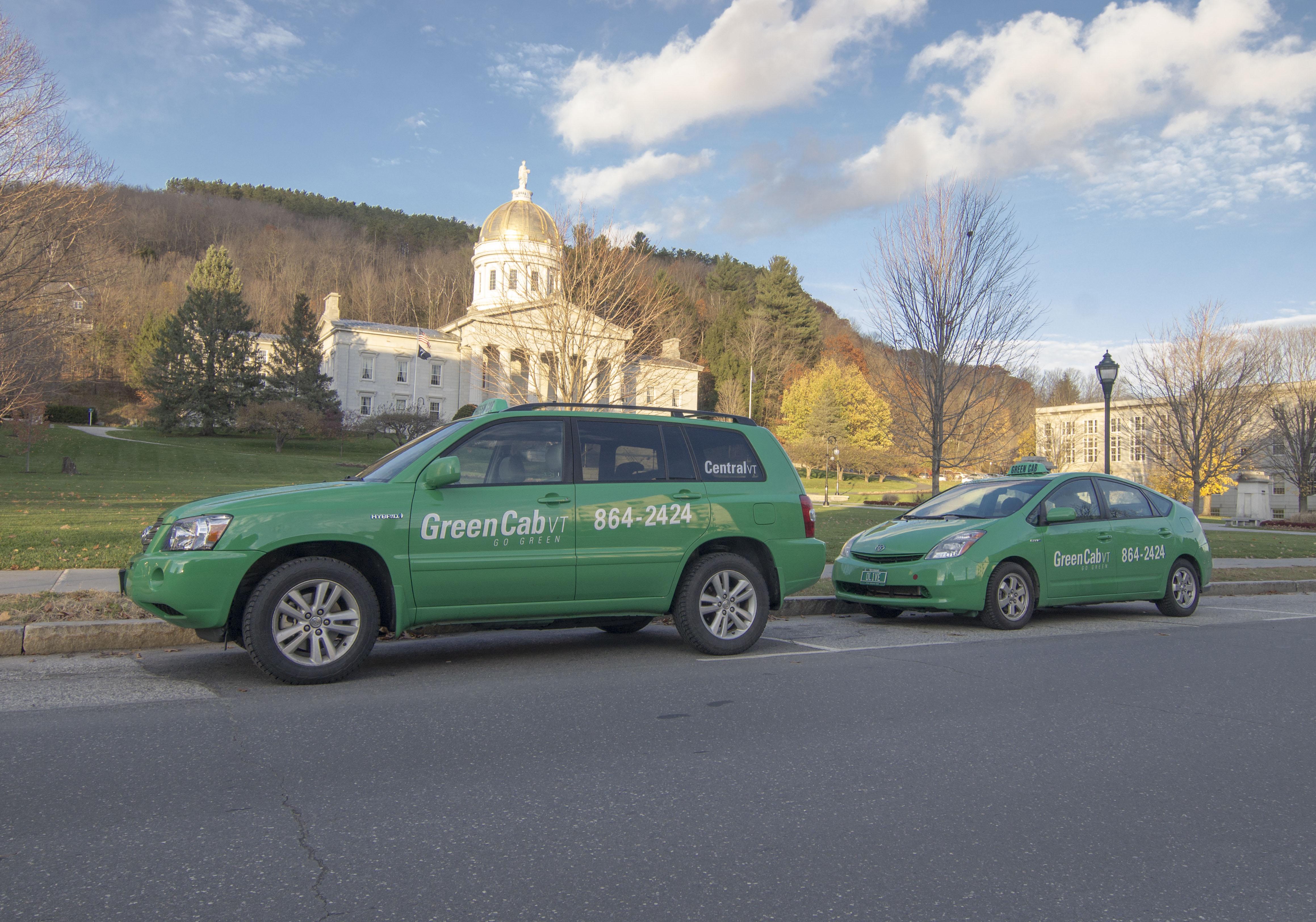 Central VT Green Cab, Montpelier VT