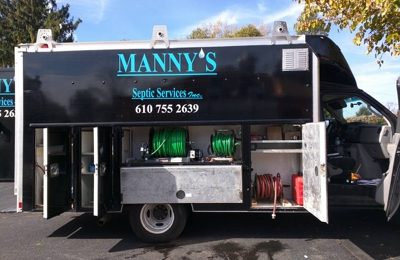 Manny's Septic, Grease Trap & Drain Cleaning - Thorndale, PA