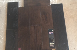 The middle is the floor we had them replicate.  The top and bottom are the samples we approved.  The sides are what we initally got