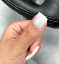 Number One Nails and Spa - Revere, MA. Uneven lines. Poor job