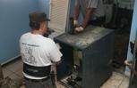 Oil fired steam boiler#2