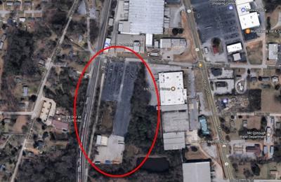 Cs Fleet Truck Parking - McDonough, GA. McDonough GA Truck Parking Space For Rent Arial