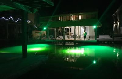 Image result for green fishing light