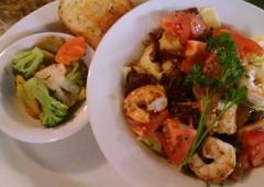 Saddle Up Steak House - Athol, ID. Shrimp Pasta