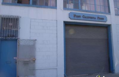 First California Press - San Francisco, CA