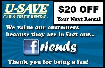 U SAVE AUTO RENTAL - Auburn, AL