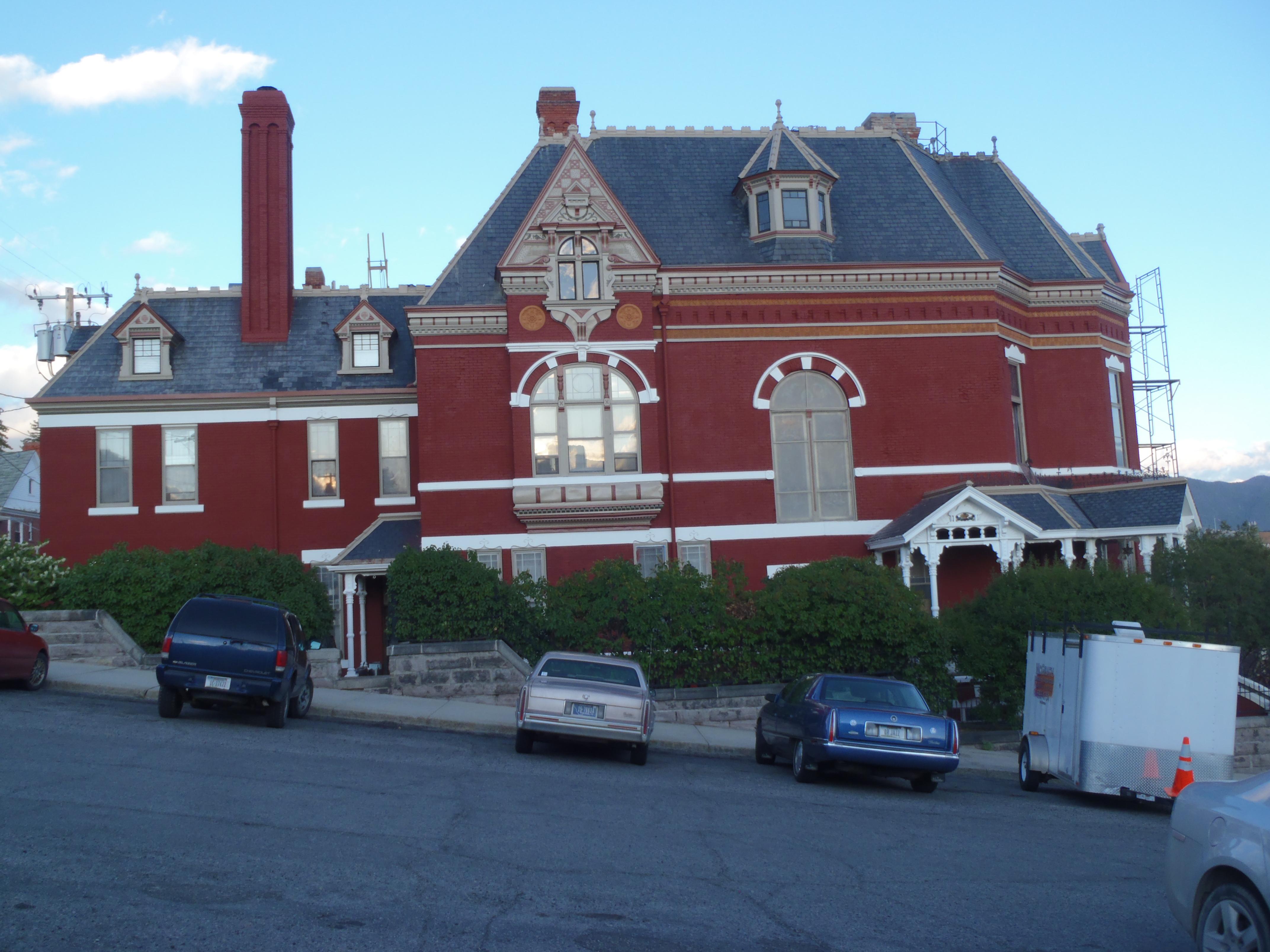 Copper King Mansion National, Butte MT