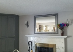 ProTec Painting - Calimesa, CA. We refreshed the look of the fireplace.