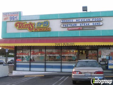Tams Burgers, Bellflower CA