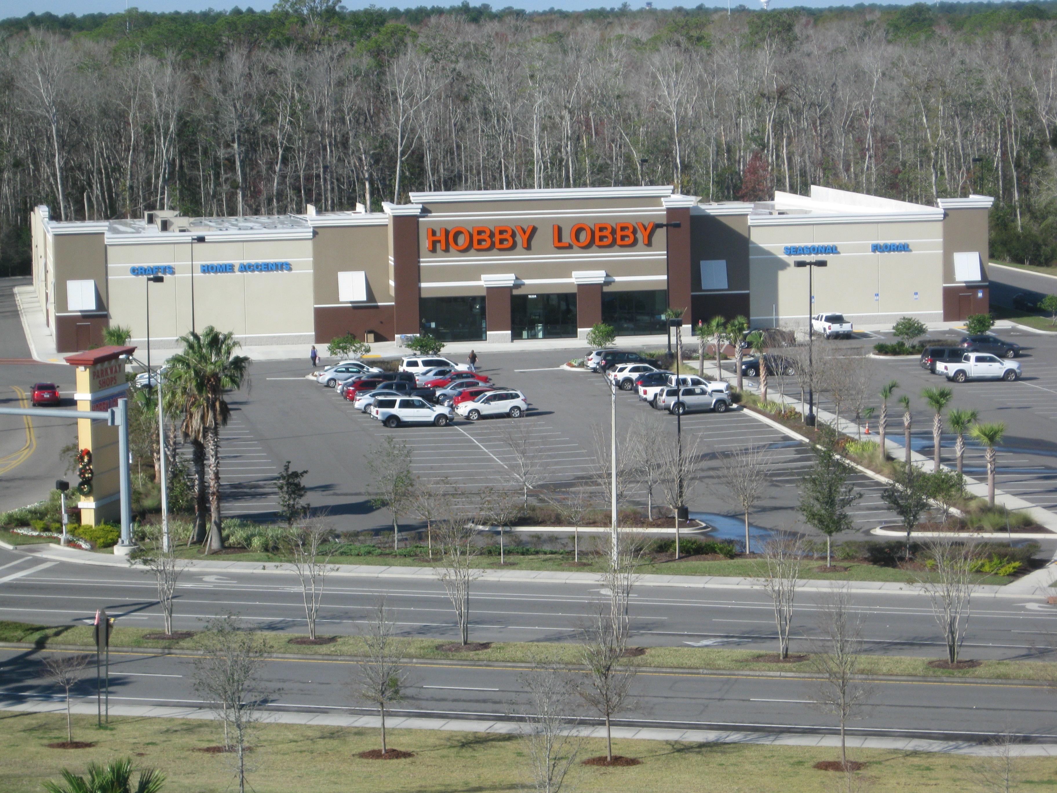 Hobby Lobby 15324 Max Leggett Pkwy Suite 100 Jacksonville Fl 32218