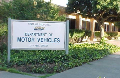 California Department of Motor Vehicles - DMV - San Francisco, CA