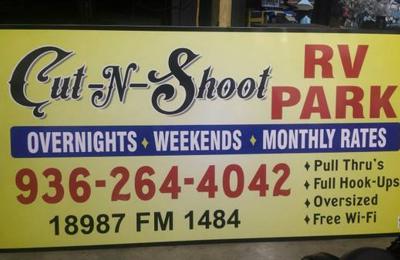 Cut N Shoot RV Park 18987 fm 1484, conroe, TX 77303 - YP com