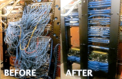 Expert Turnkey Managed IT Support - Pompano Beach, FL. Im Amazed at the finished result of this network rack.
