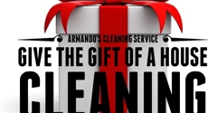 Armando's Cleaning Service - Dallas, TX. Give the Gift of a House Cleaning for any Special Occassion!