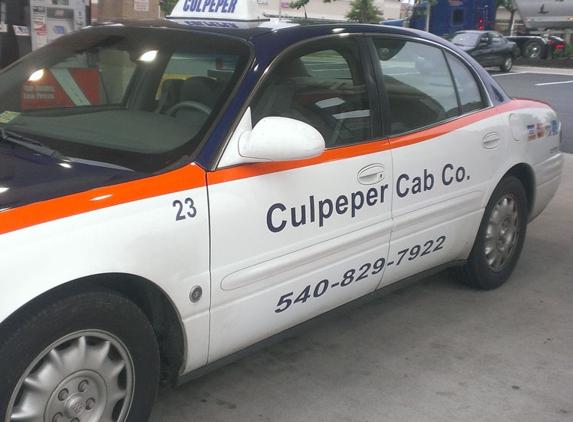 Culpeper Cab Company - Culpeper, VA