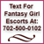 Fantasy Girl Escorts In Vegas