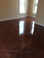 We also do Stained Concrete