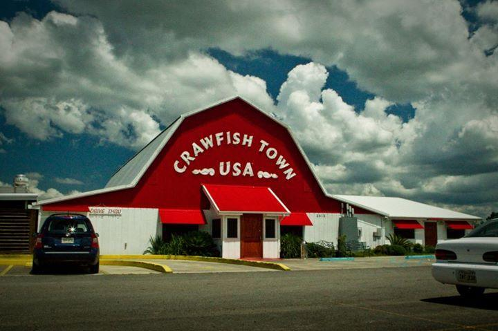 Crawfish Town USA, Henderson LA