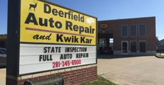 Deerfield Auto Repair and Kwik Kar - Houston, TX