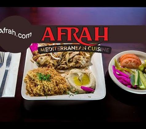 Afrah Mediterranean Restaurant - Irving, TX