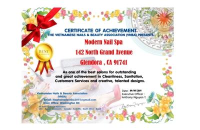 Modern Nail Spa - Glendora, CA